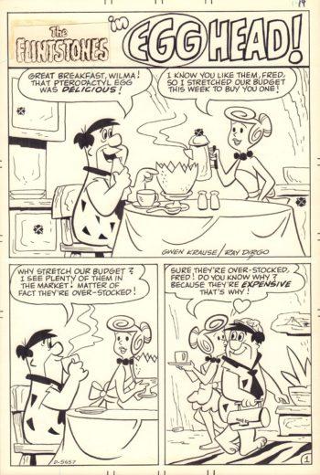 The Flintstones: Egg Head! - komplet 5 plansz