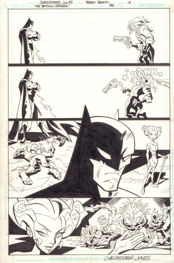 The Batman Strikes! #32 / 19