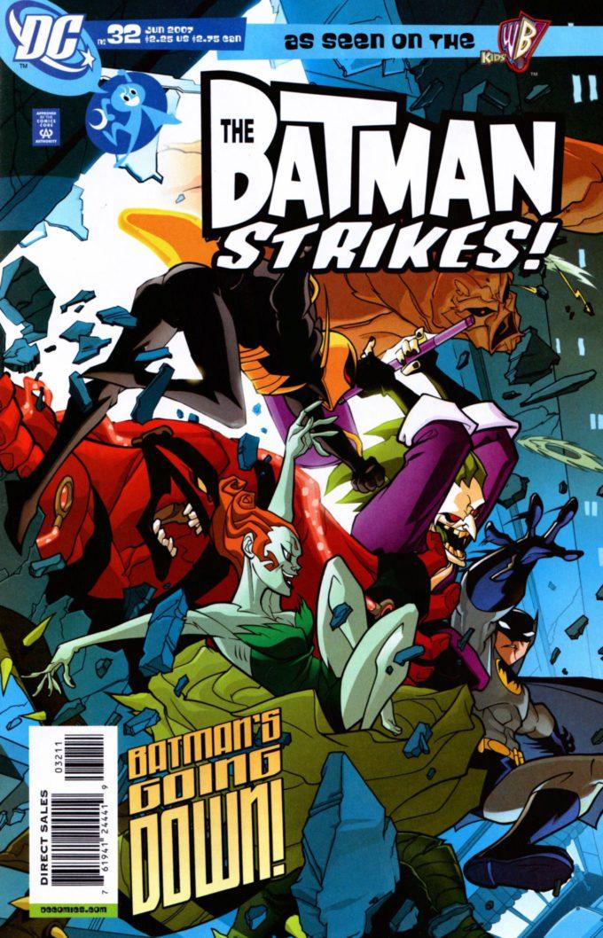 The Batman Strikes! #32 / 19 czarno-biały