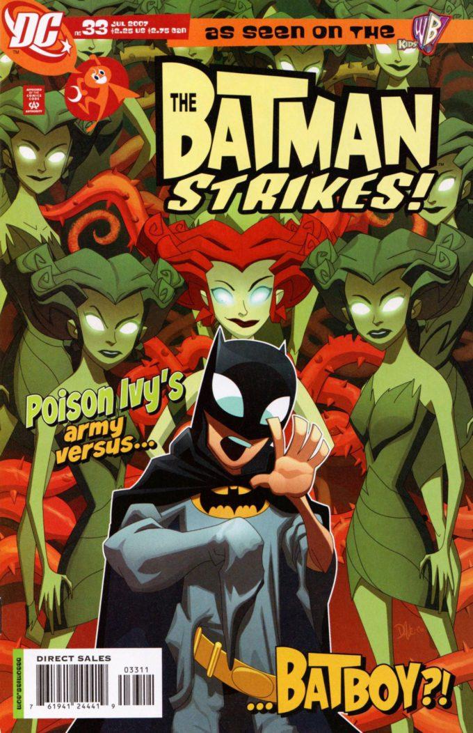 The Batman Strikes! #33 / 2 czarno-biały