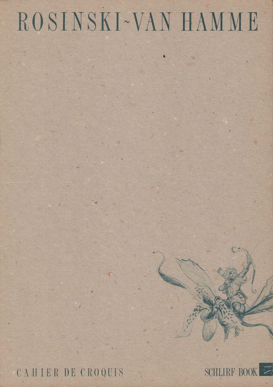 Chahier De Croquis - teczka prac, numerowana i sygnowana