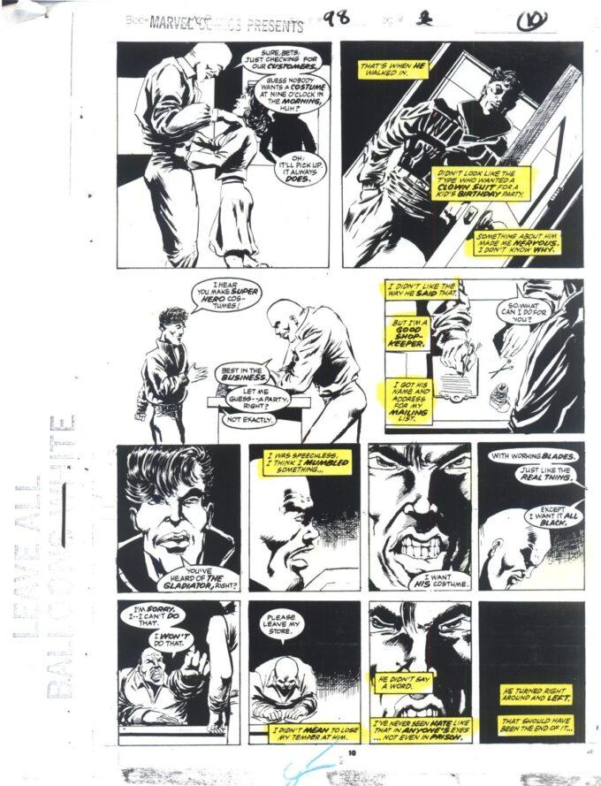 Marvel Comics Presents #98 / 10/23 kolor