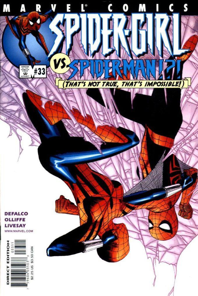 Spider-Girl #33 / 22 czarno-biały