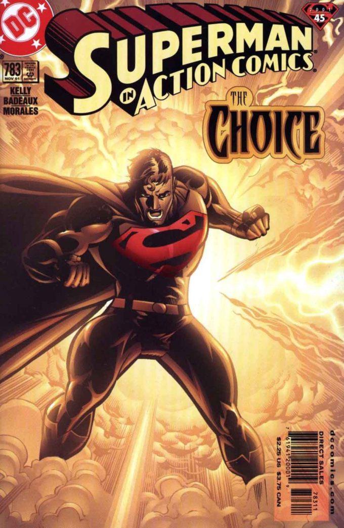 Action Comics #783 / 17 czarno-biały
