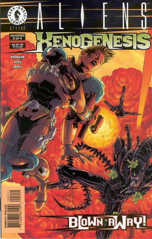 Aliens: Xenogenesis #2 / 21 czarno-biały