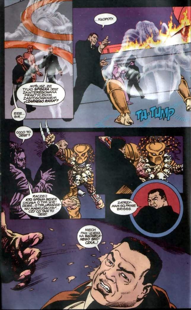 Aliens versus Predator: War #3 / 12 czarno-biały