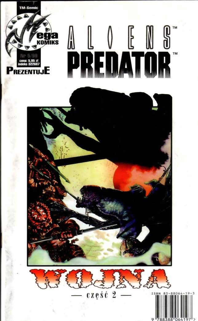 Aliens versus Predator: War #3 / 12 Dark Horse