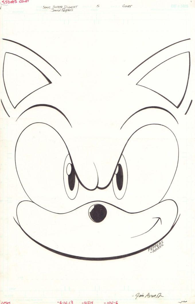 Sonic Super Digest #5 - okładka