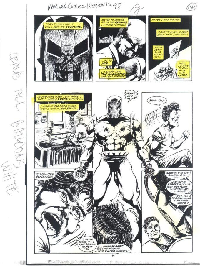 Marvel Comics Presents #98 / 14/19 kolor