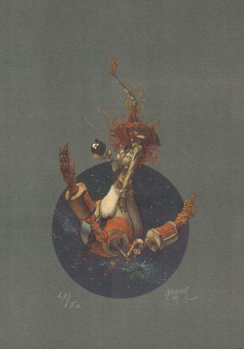 Anita Bomba - numerowana i sygnowana serigrafia