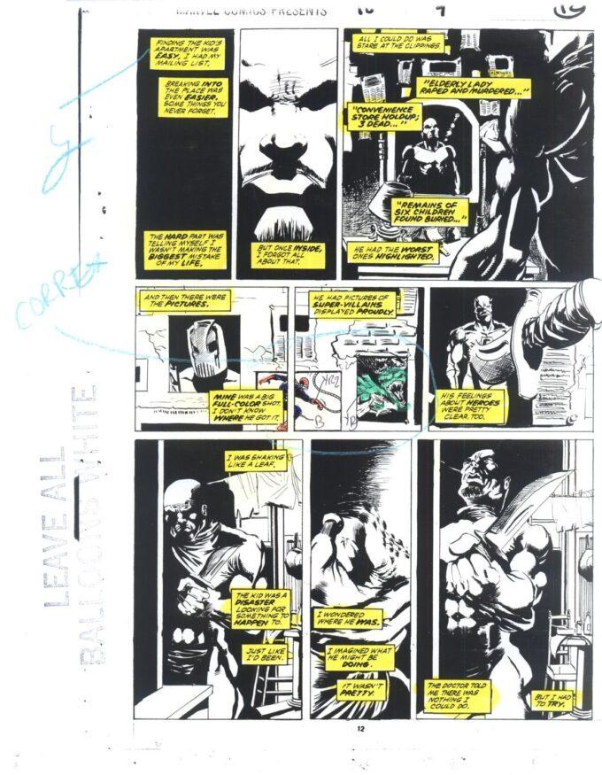 Marvel Comics Presents #98 / 12/21 kolor
