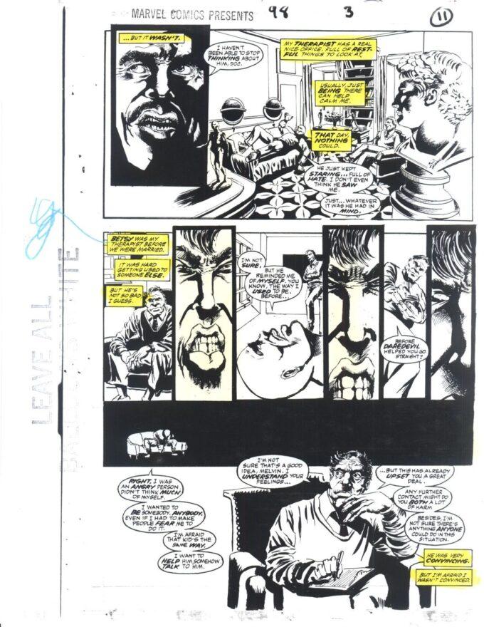 Marvel Comics Presents #98 / 11/22 kolor