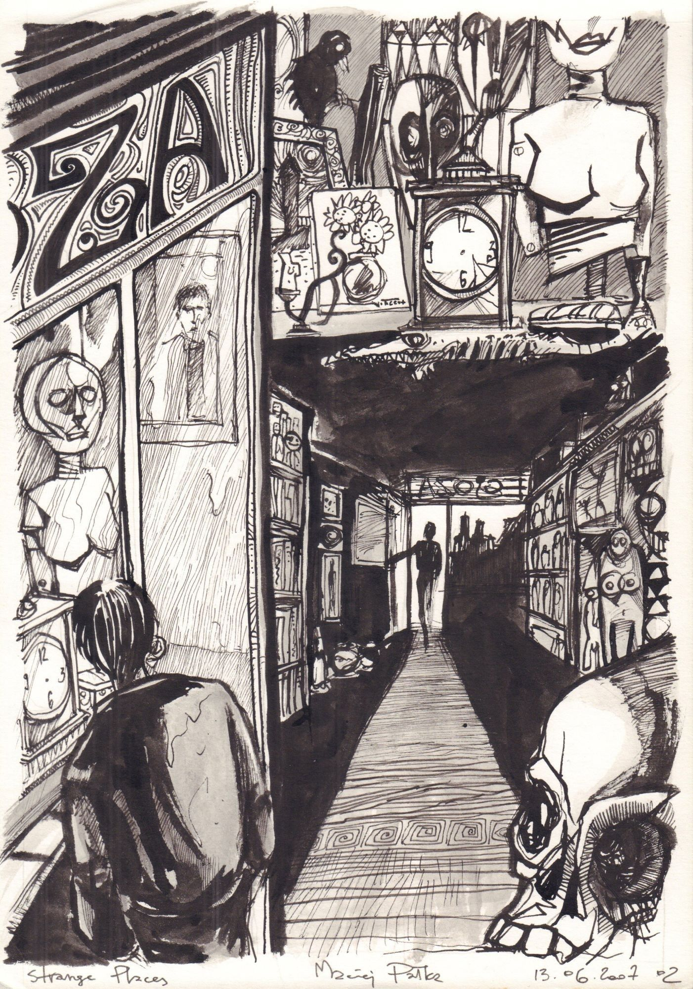 Benedykt Dampc. Strange Places, s. 3
