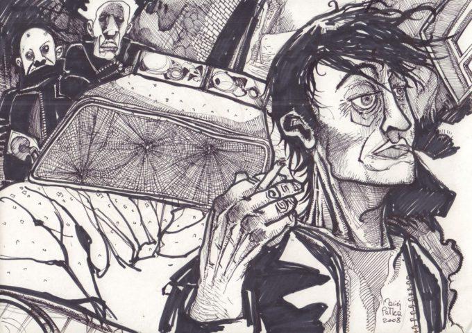 Benedykt Dampc. Strange Places - ilustracja promocyjna
