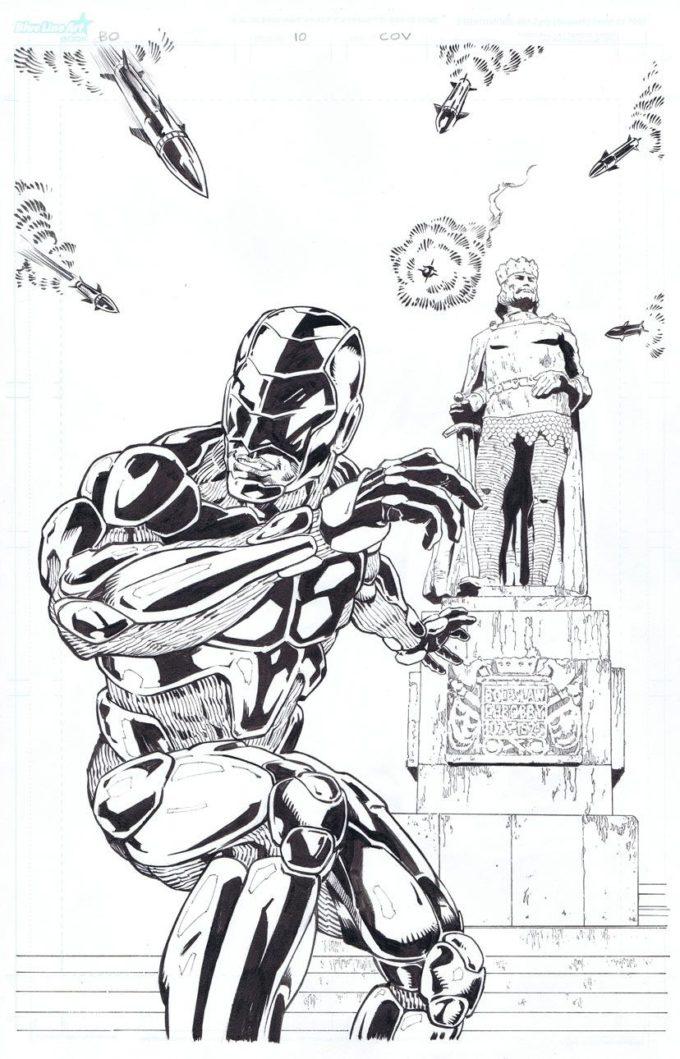 Biały Orzeł #10 - okładka