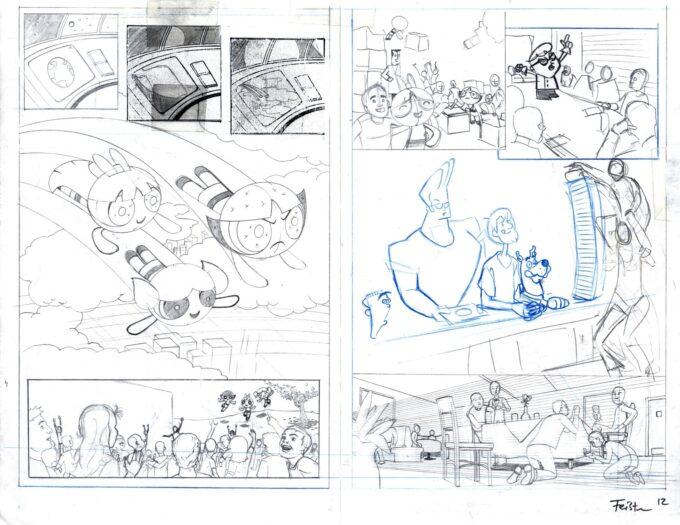 Cartoon Network: Powerpuff Girls & Scooby Doo