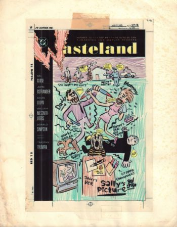 Wasteland #10 - okładka