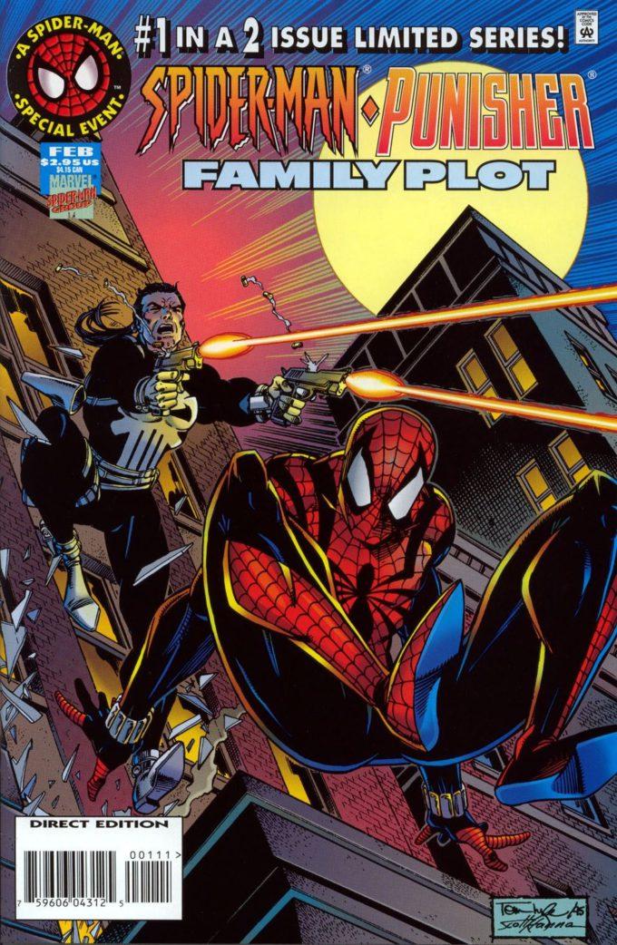 Spider-man / Punisher: Family Plot #1 / 20 czarno-biały
