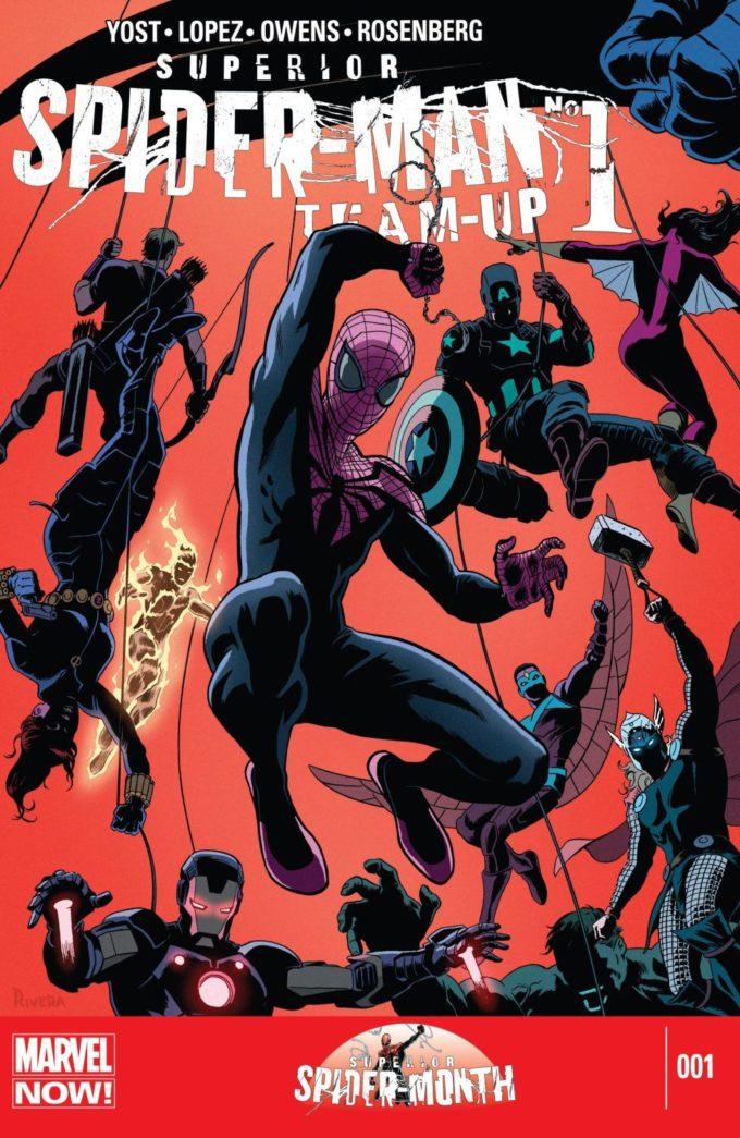 Superior Spider-Man Team-Up #1 / 7 czarno-biały