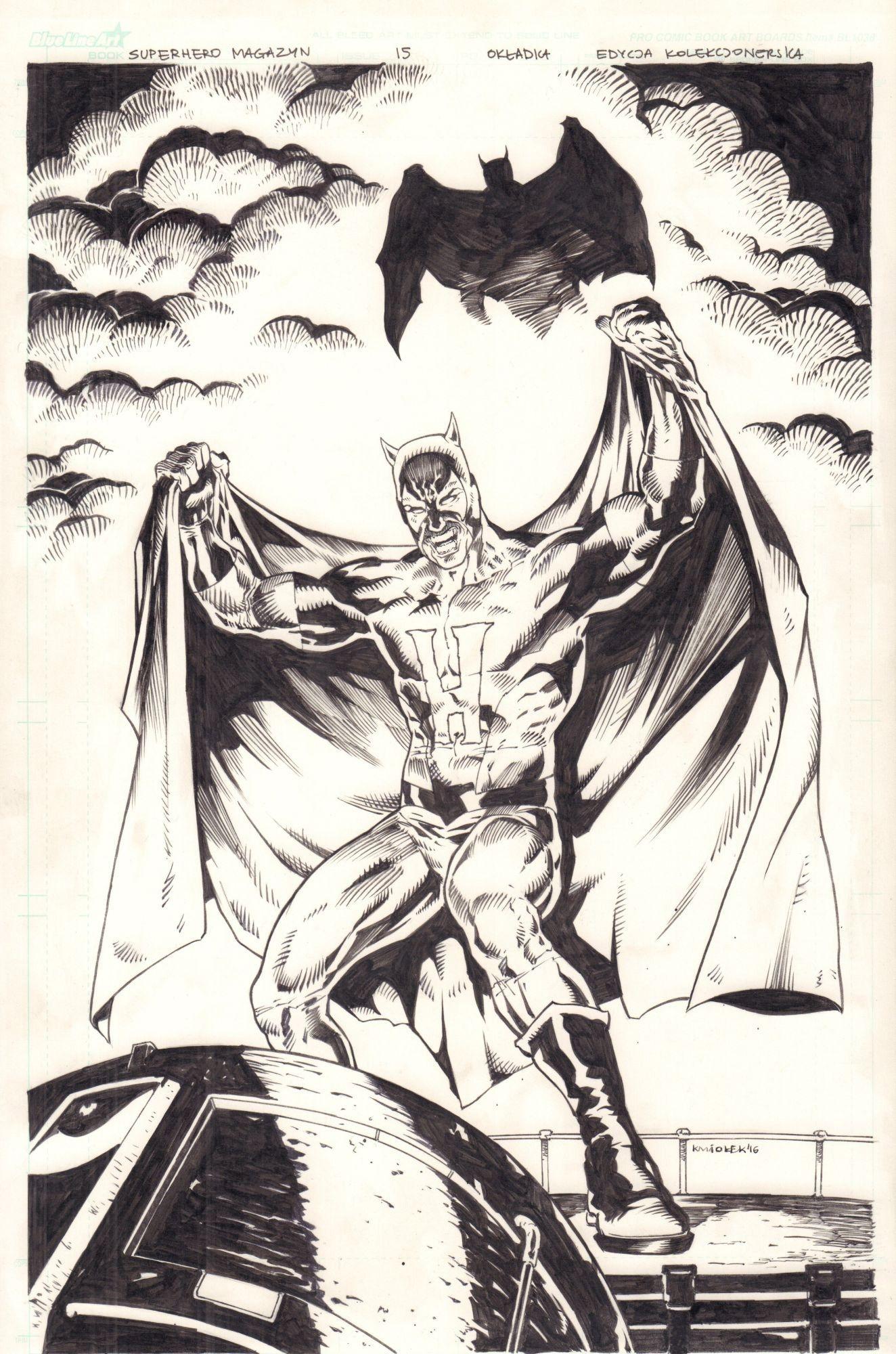 Super Hero #7 - okładka