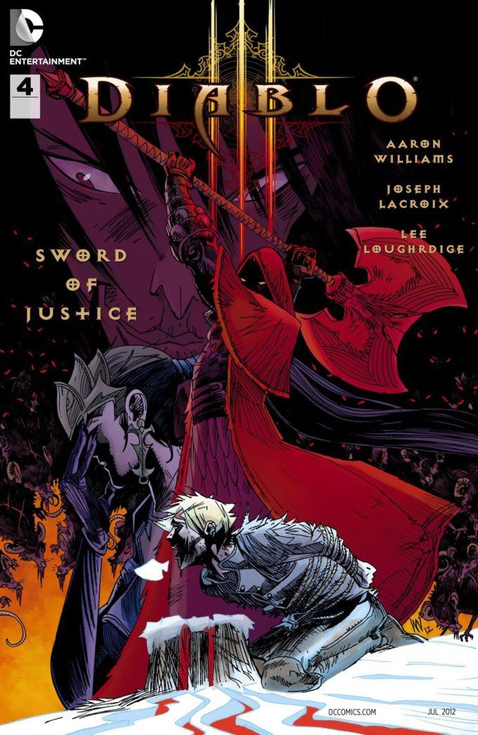 Diablo III: Sword of Justice #4 / 14 czarno-biały