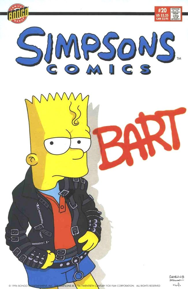 Simpsons Comics #20 / 1 czarno-biały