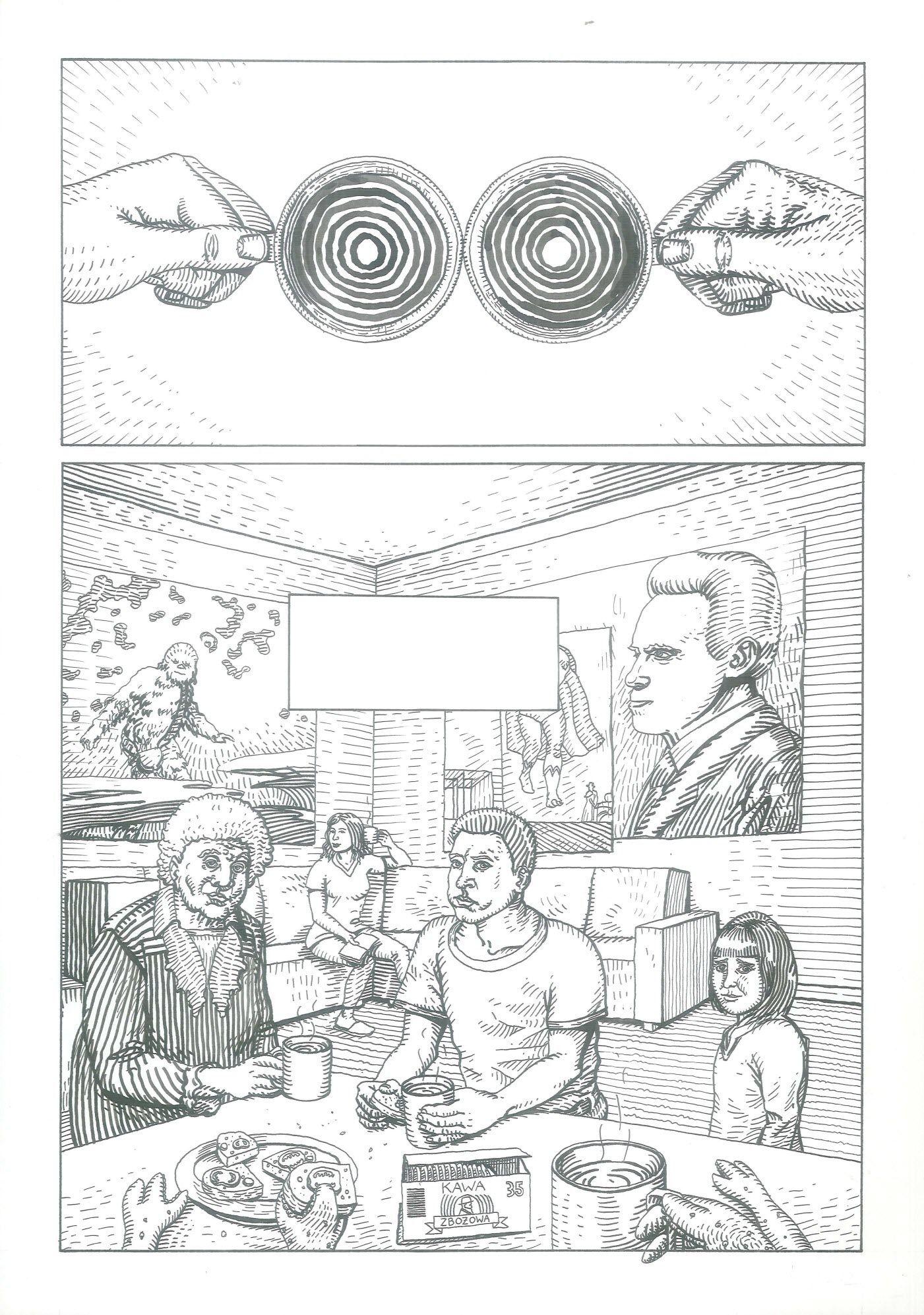 Rozwiązanie zagadki kręgów zbożowych, 2 (tusz)