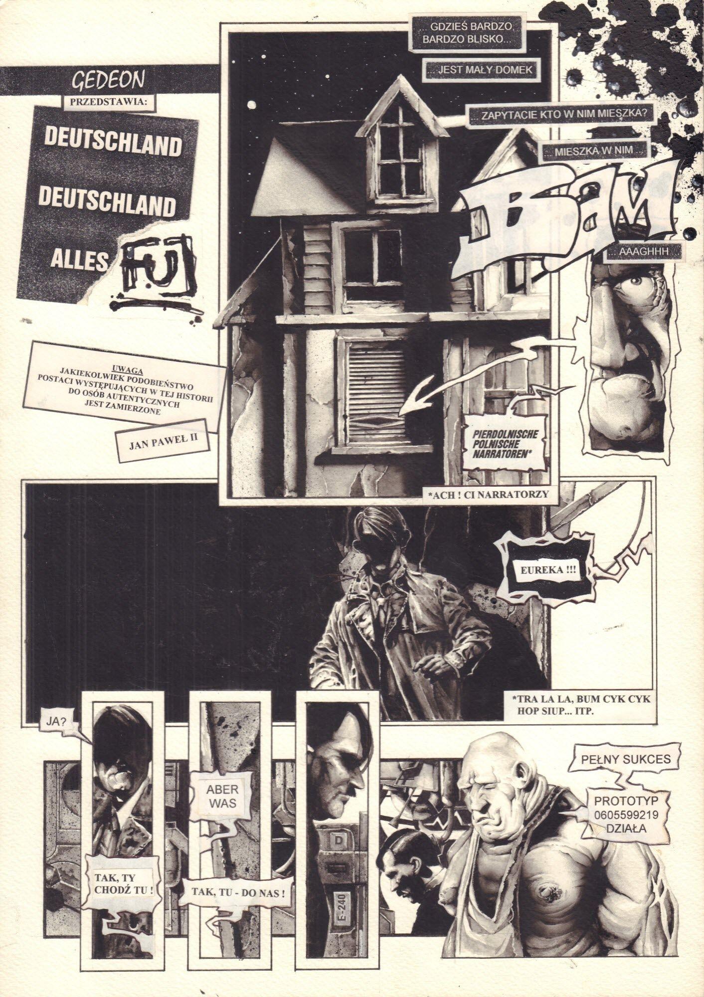 Deutschland, Deutschland Alles Fuj, s. 1