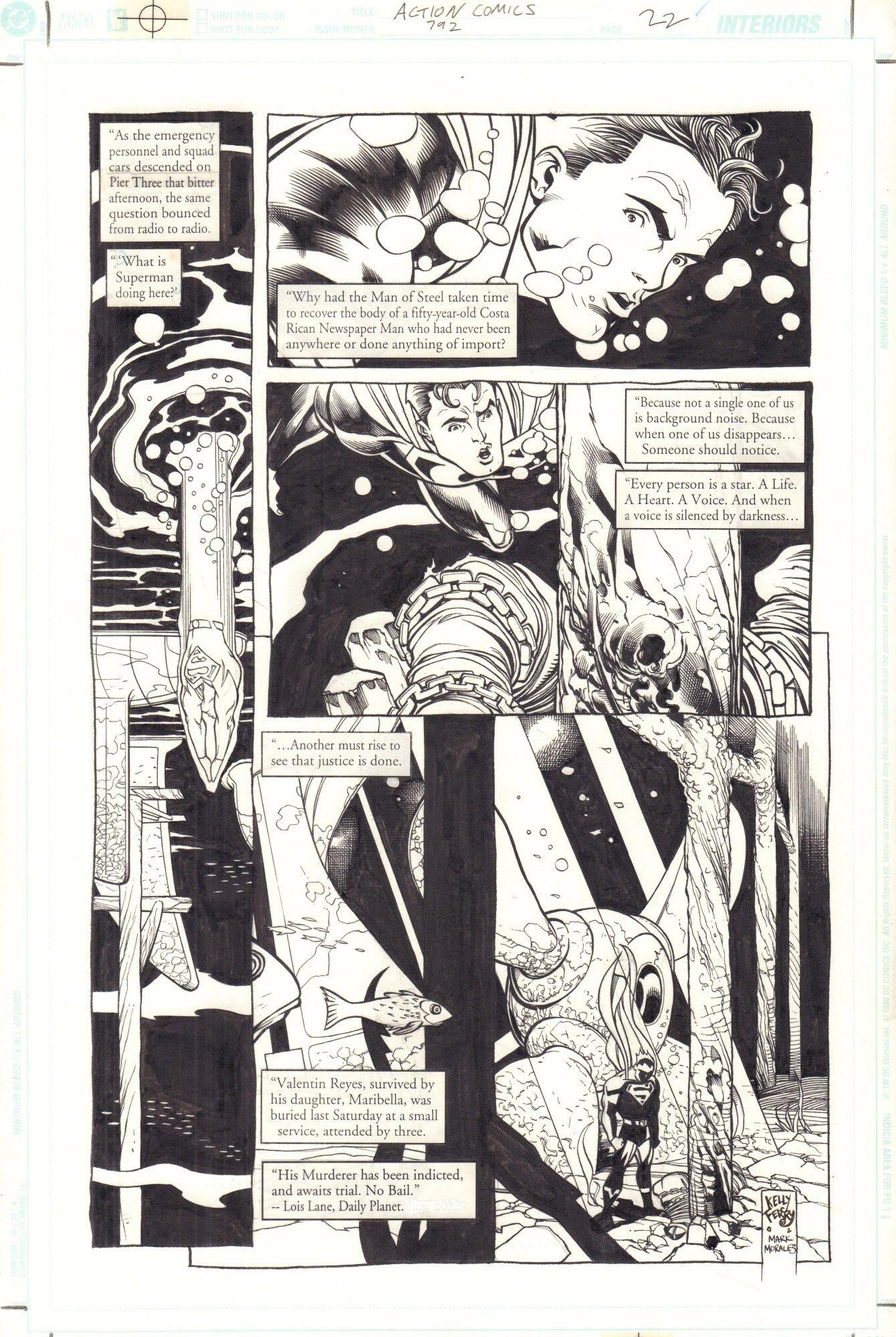 Action Comics #792 / 22