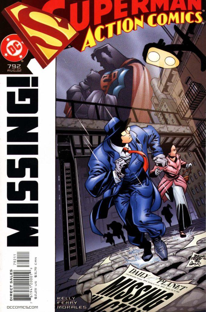 Action Comics #792 / 22 czarno-biały
