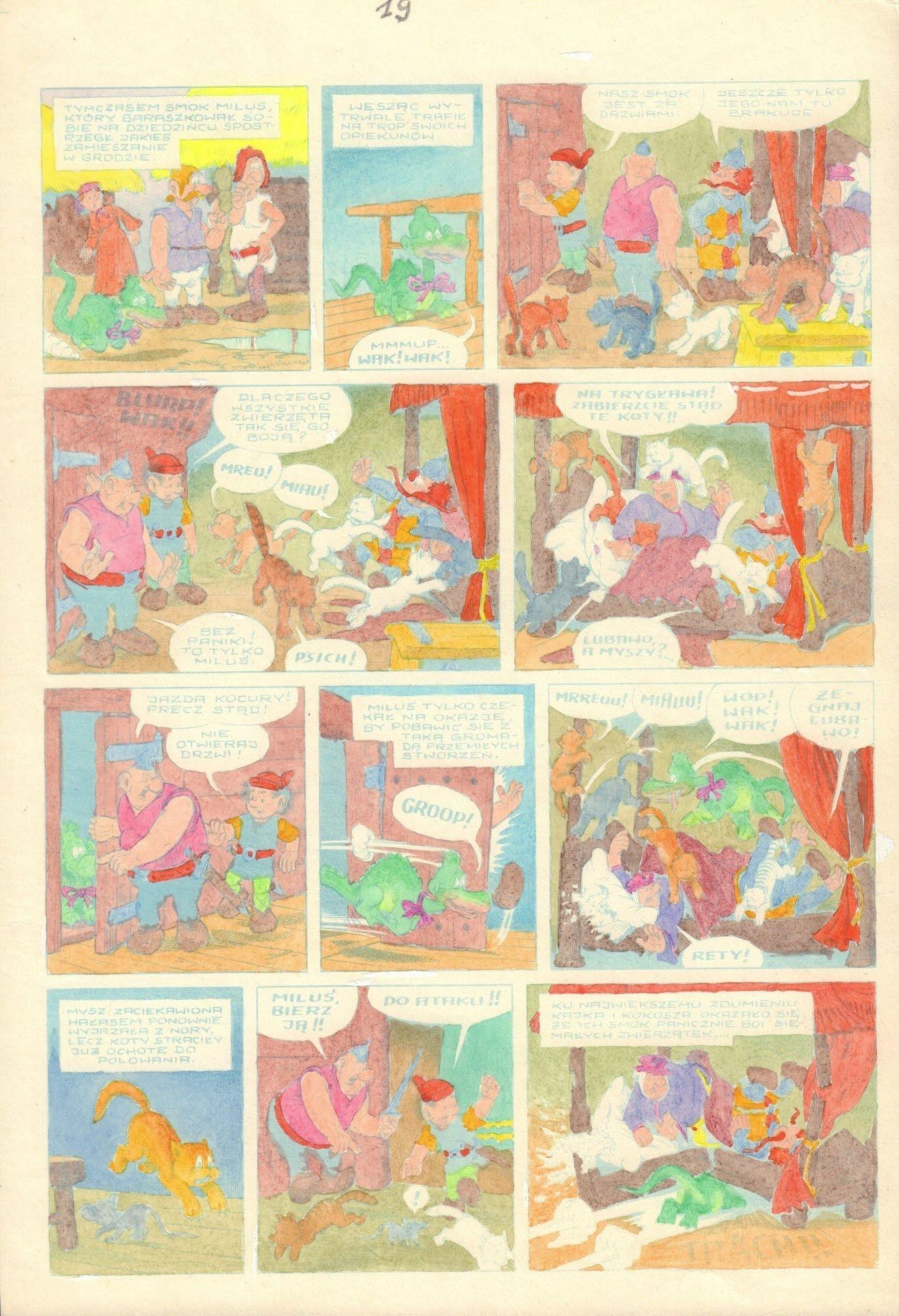 Zamach na Milusia, s. 19 - kolor
