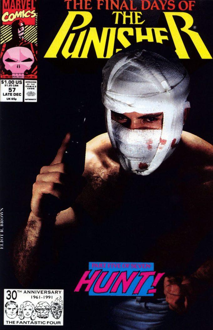 The Punisher #57 / 24 czarno-biały
