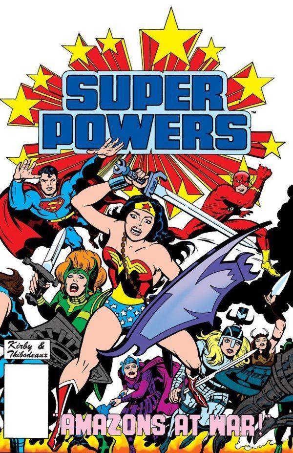 Super Powers #4 / 19 czarno-biały