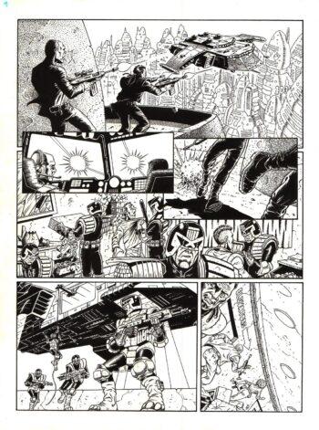 Judge Dredd #207 / 9