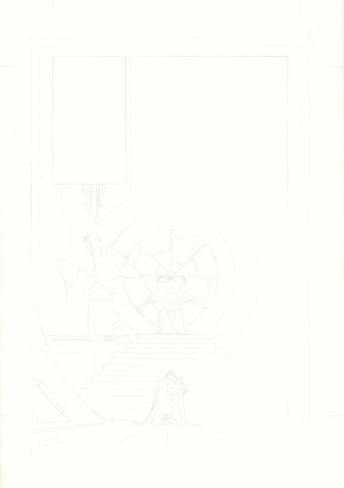 Star Wars: Tales #1 / 4 czarno-biały