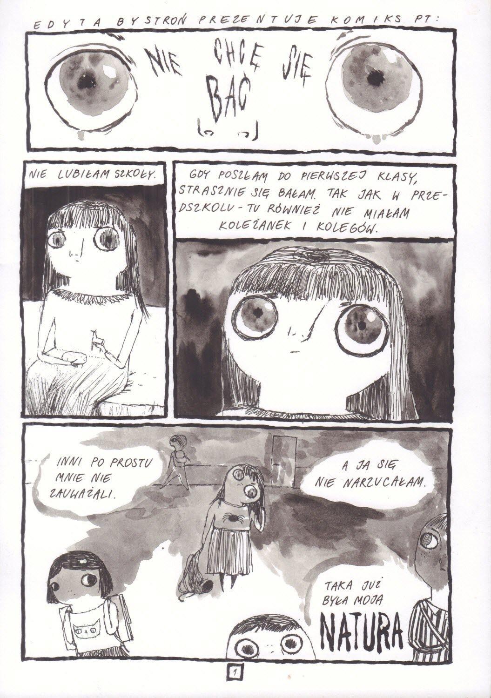 Nie chcę się bać, s. 1