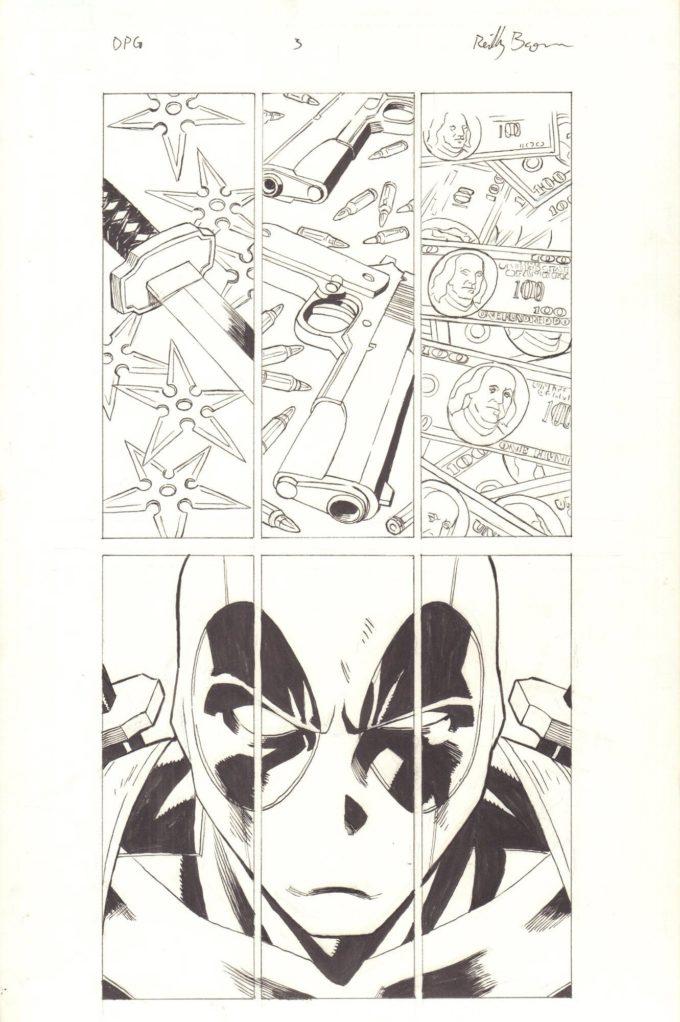 Deadpool: The Gauntlet #3 - okładka