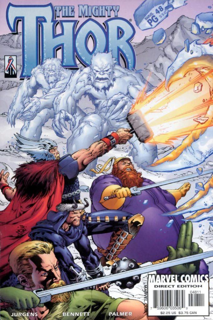 The Mighty Thor vol 2 #48 / 1 czarno-biały