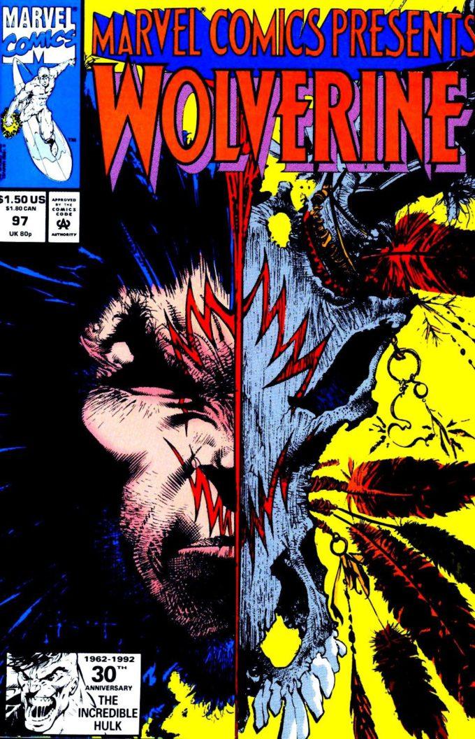Marvel Comics Presents #97 / 15 czarno-biały