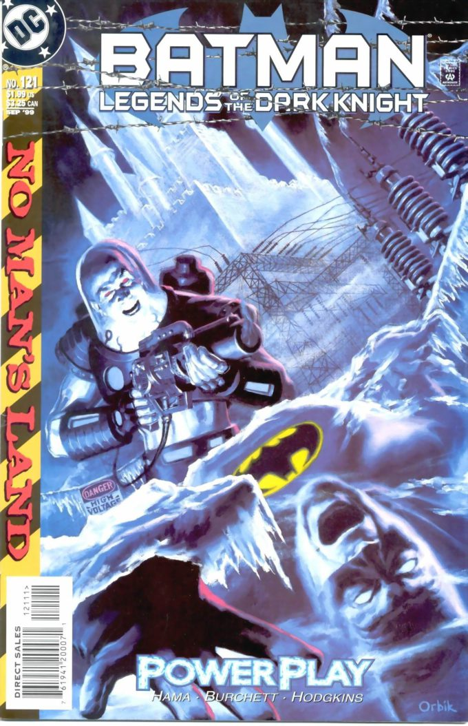 Batman: Legends of Darknight #121 / 1 czarno-biały
