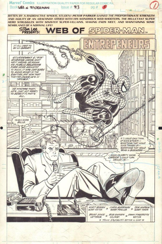 Web of Spider-Man #83 / 1