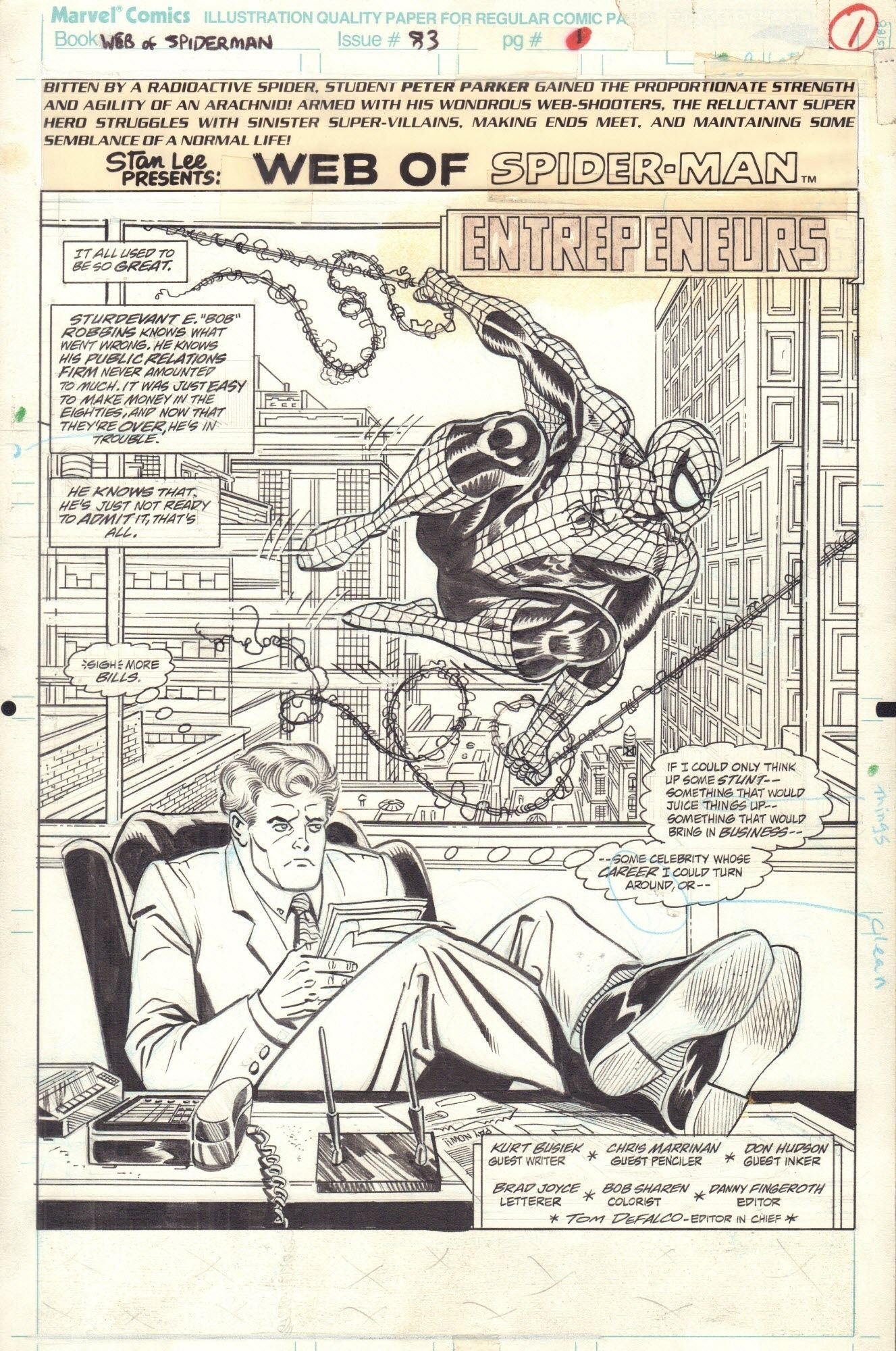 Web of Spider-Man #83 / 1