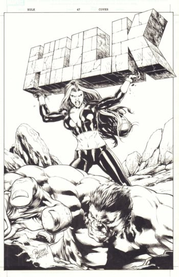 Hulk vol 2 #47 - okładka