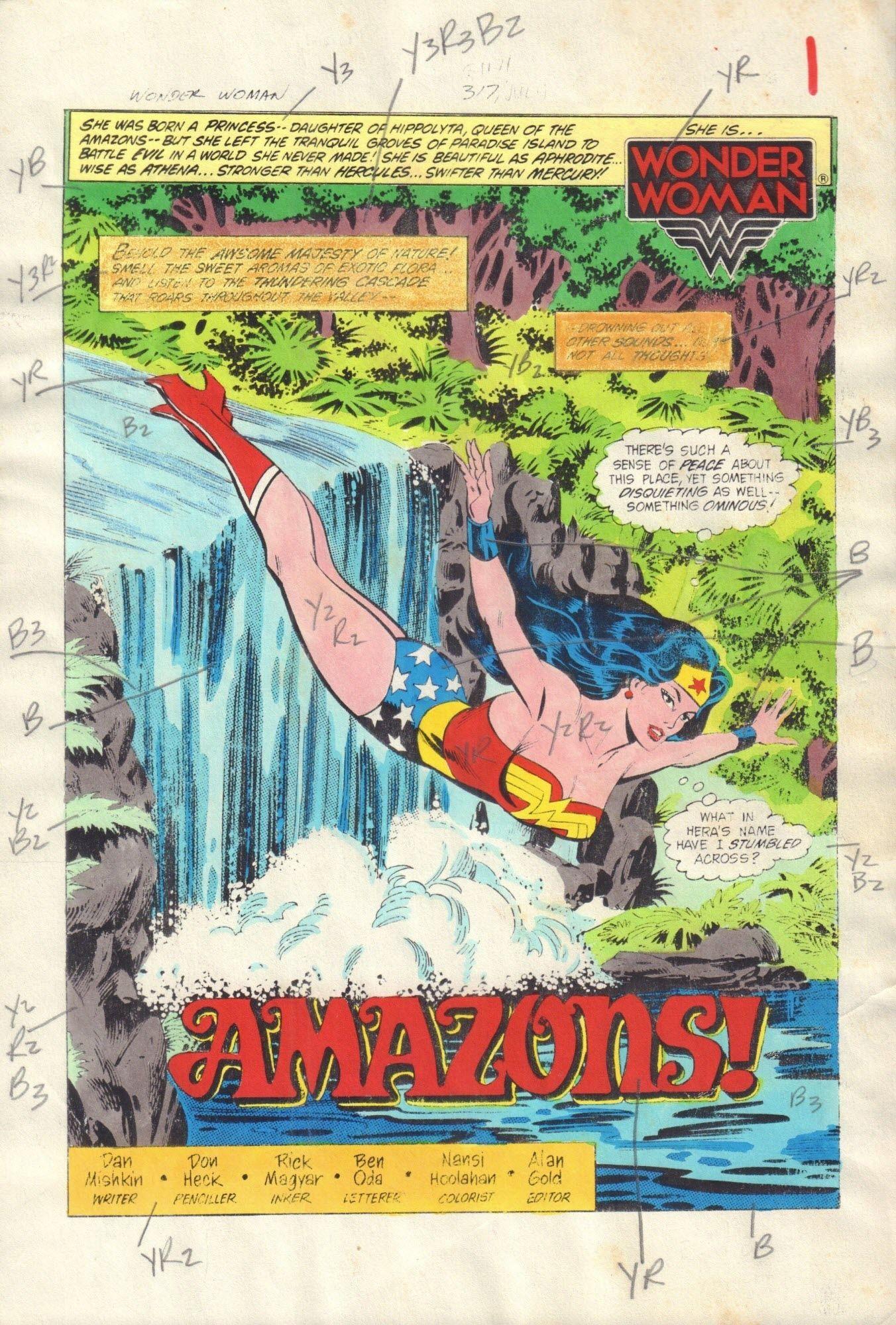 Wonder Woman #317 / 1