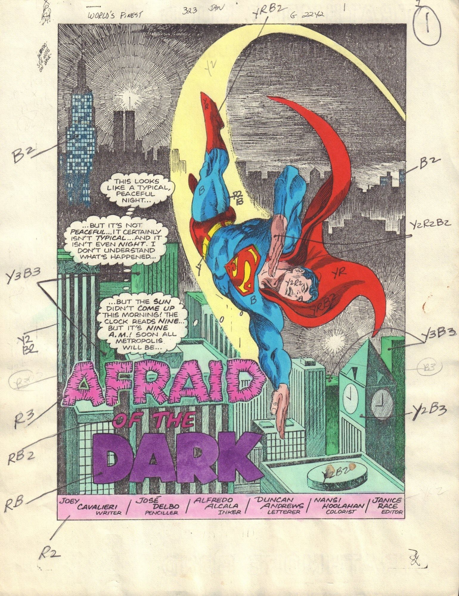 World's Finest Comics #323 / 1