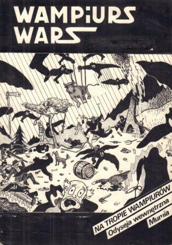 Wampiurs Wars #1 - okładka