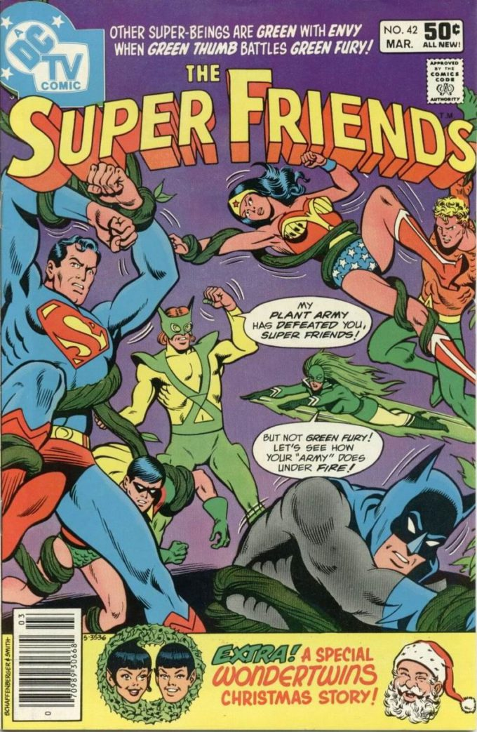 The Super Friends #42 / 1 czarno-biały