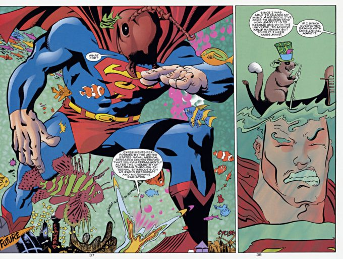 Superman 80-page Giant vol 2 #1 / 37-38 - komplet czarno-biały