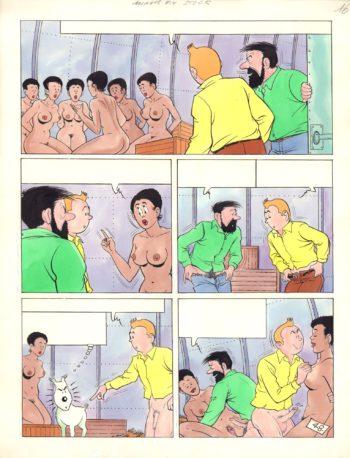Tintin. Le Mariage