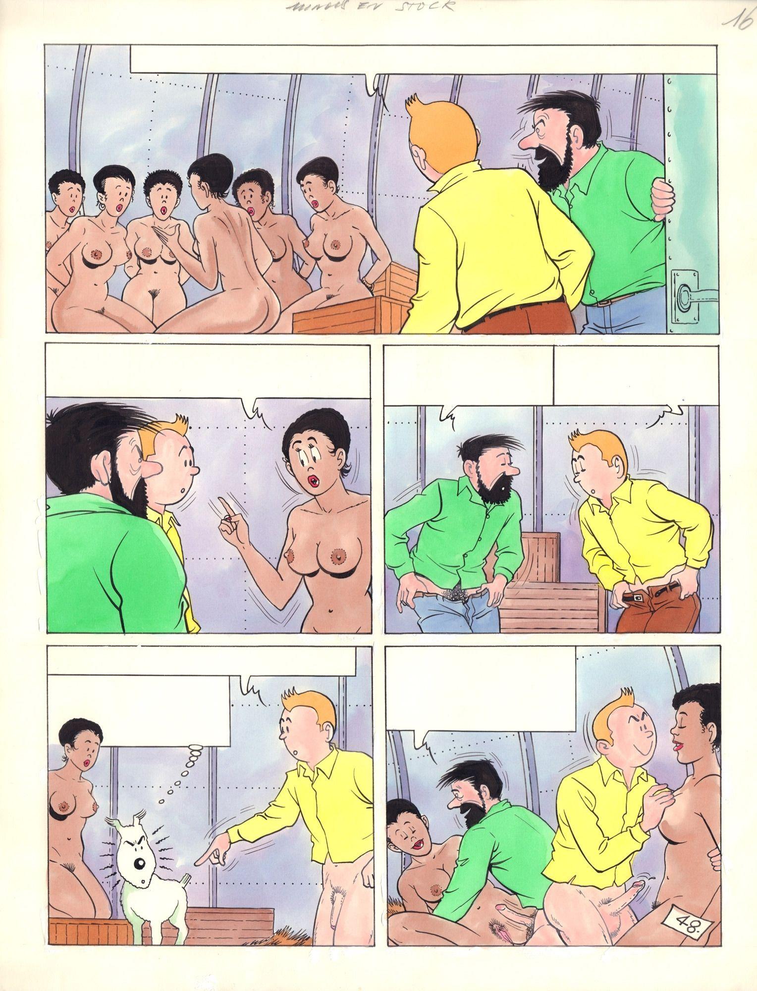 Tintin. Le Mariage, s. 48